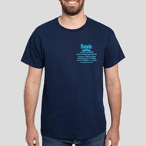 Mustache Madness for CDH Awareness! Dark T-Shirt