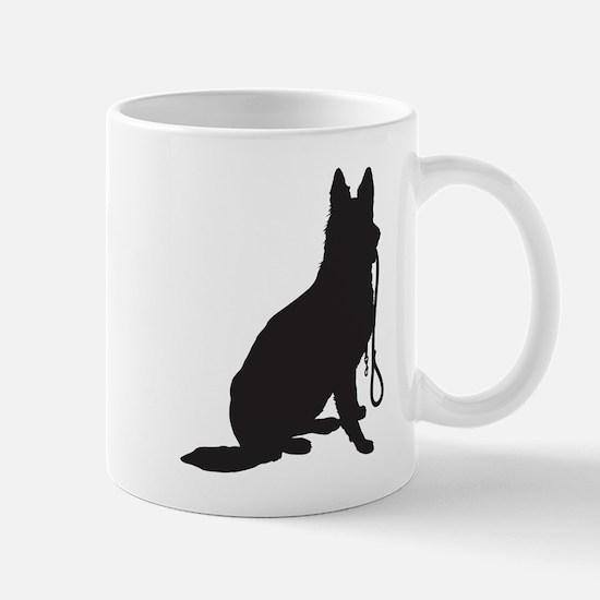 Shepherd with Leash Mug