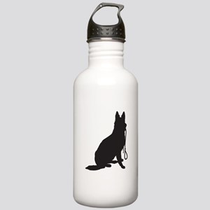 Shepherd with Leash Stainless Water Bottle 1.0L