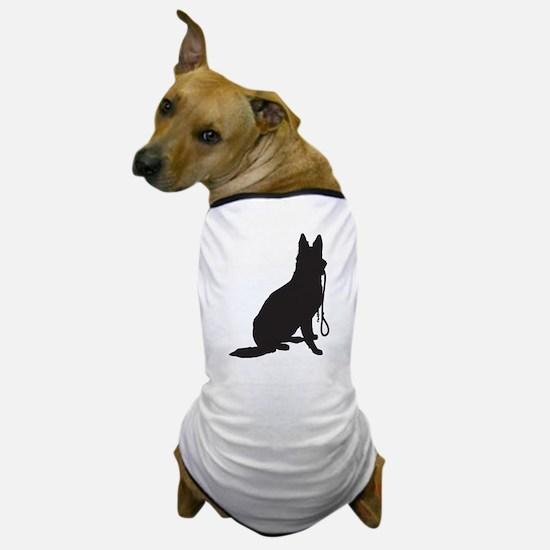 Shepherd with Leash Dog T-Shirt