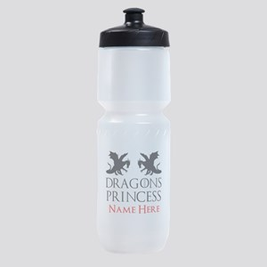 Dragons Princess Personalized Sports Bottle