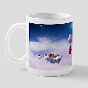 Christmas floating islands Mug
