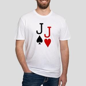 Pocket Jacks Poker Fitted T-Shirt