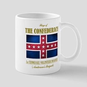 1st Tennessee Volunteers Large Mugs
