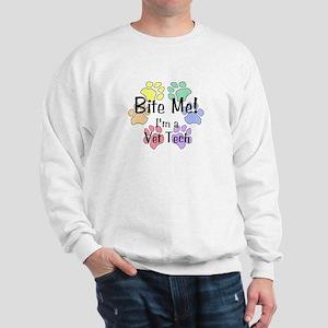Bite Me! I'm A Vet Tech Sweatshirt