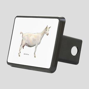Saanen Dairy Goat Rectangular Hitch Cover