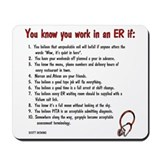 Emergency medicine Classic Mousepad