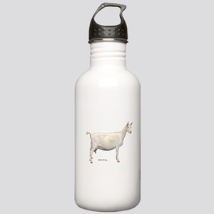 Saanen Dairy Goat Stainless Water Bottle 1.0L