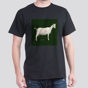 Saanen Dairy Goat Dark T-Shirt