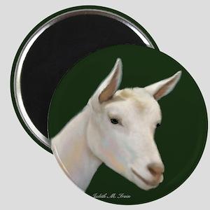 Saanen Dairy Goat Magnet