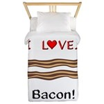 I Love Bacon Twin Duvet