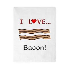I Love Bacon Twin Duvet