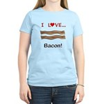 I Love Bacon Women's Light T-Shirt