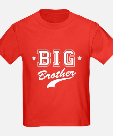 Big Brother - Team Kids Red T-Shirt
