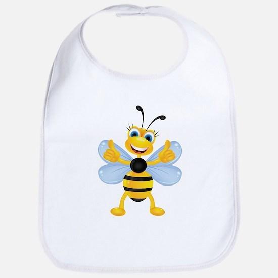 Thumbs up Bee Bib