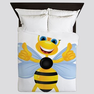 Thumbs up Bee Queen Duvet