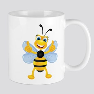 Thumbs up Bee Mugs