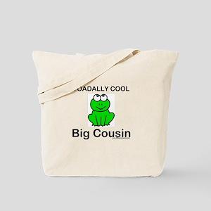 Toadally cool big cousin Tote Bag