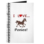 I Love Ponies Journal