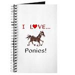 I Love Ponies Journal