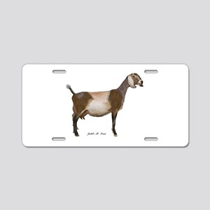 Nubian Dairy Goat Aluminum License Plate