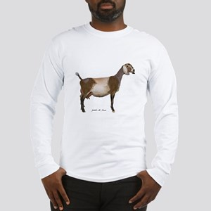 Nubian Dairy Goat Long Sleeve T-Shirt