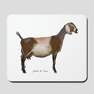 Nubian Dairy Goat Mousepad