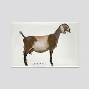 Nubian Dairy Goat Rectangle Magnet