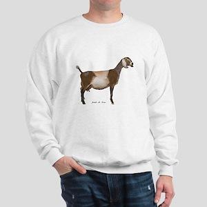 Nubian Dairy Goat Sweatshirt