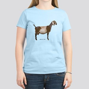 Nubian Dairy Goat Women's Light T-Shirt