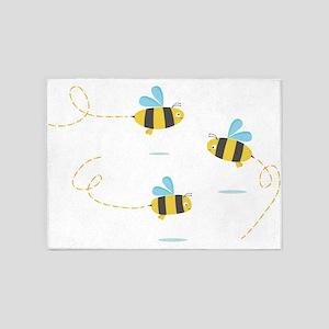 Bee Trio 5'x7'Area Rug