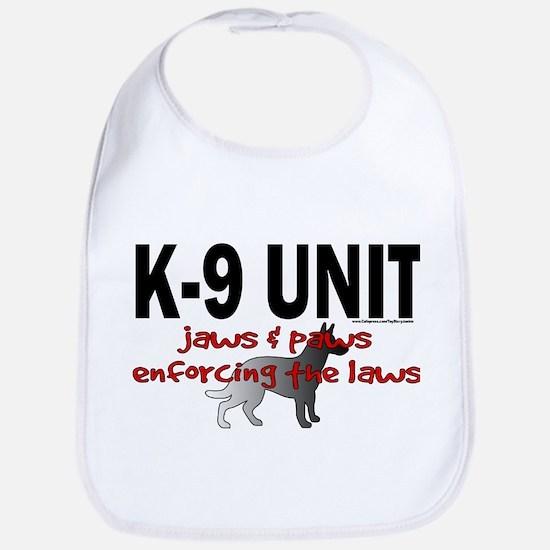 K9 UNIT: Jaws & Paws Bib