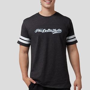 Phi Delta Theta Script Mens Football Shirt