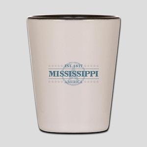 Mississippi Shot Glass