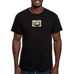 WWW Generic Logo Men's Fitted T-Shirt (dark)