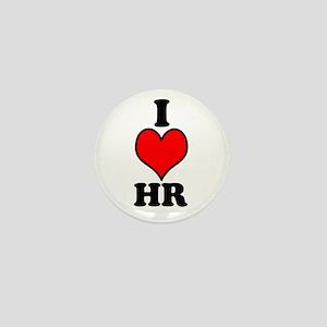 I Love HR Mini Button (10 Pack)