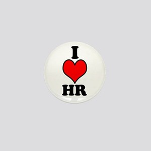 I Love HR Mini Button