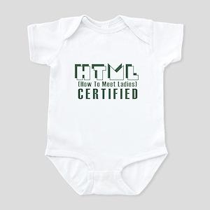 College Humor tees Ladies Man Infant Bodysuit