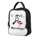 I Love Mycology Neoprene Lunch Bag
