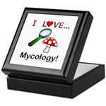 I Love Mycology Keepsake Box