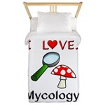 I Love Mycology Twin Duvet