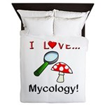 I Love Mycology Queen Duvet