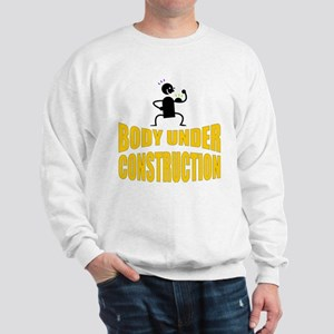 Body Under Construction Hoodie Sweatshirt