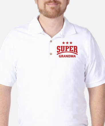 Super Grandma (Red) Golf Shirt
