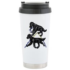 Flat Coated Retrievers Agility Travel Mug