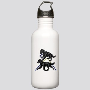 Flat Coated Retrievers Agility Water Bottle