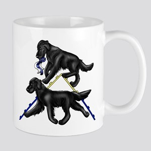 Flat Coated Retrievers Agility Mugs
