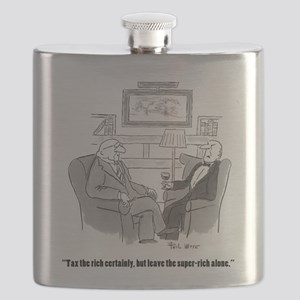tax the rich Flask