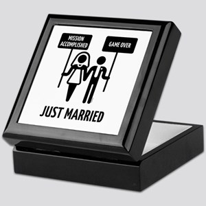 Just Married – Mission Accomplished – Keepsake Box