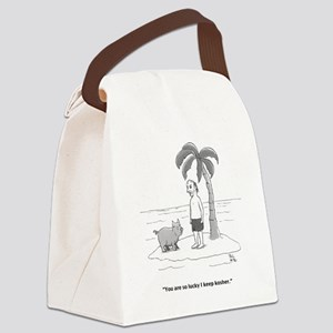 keep kosher Canvas Lunch Bag